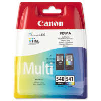 Canon 540 / CL-541 Multipack Ink cartridge - 2-pack Black, Colour (cyan, magenta, yellow)