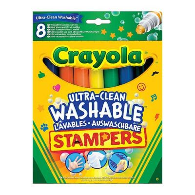 Crayola 8-ultra Clean Marker Stampers