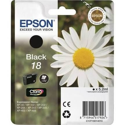 Epson 18 Ink Cartridge - Black