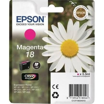 Epson 18 Ink Cartridge - Magenta