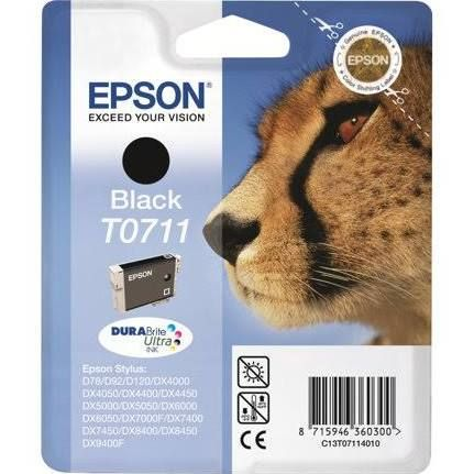 Epson T0711 Ink Cartridge - Black