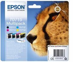 Epson T0715 Ink Cartridge - Multipack