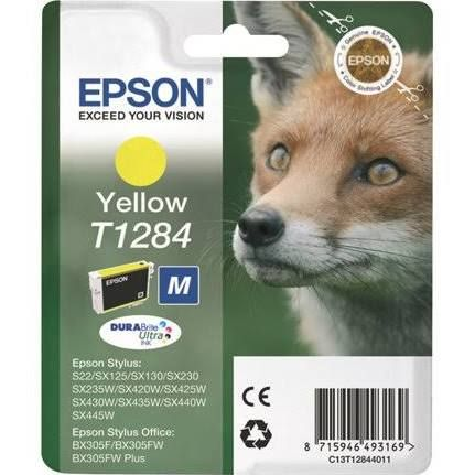 Epson T1284 Ink Cartridge - Yellow