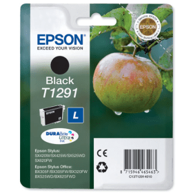 Epson T1291 Ink Cartridge - Black