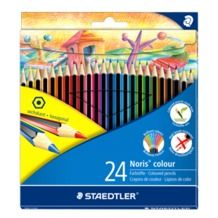 STAEDTLER Noris® colour 185 Coloured Pencils - 24 Pack