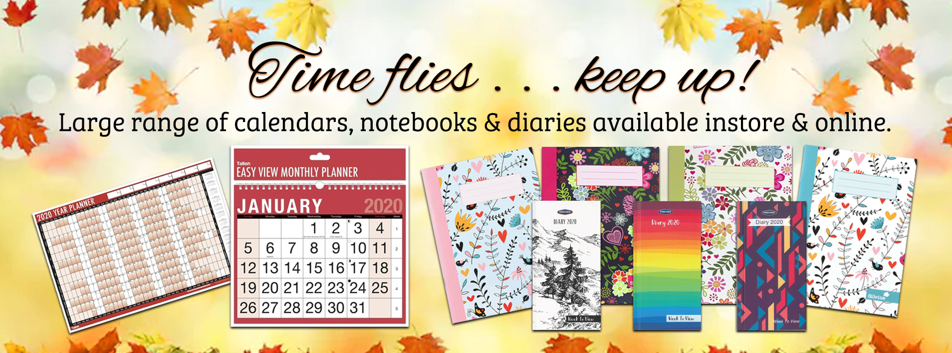 Diaries, Planners and Calendars